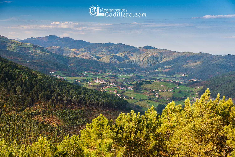 alle de las Luiñas en Cudlillero Asturias , vacaciones , santa Ana, escapada, excursión