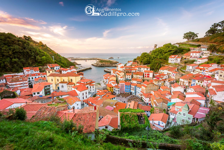 Cudillero , anfiteatro Cudillero, casas de Colores, Turismo Asturias, Vacaciones Cudillero, escapada Cudillero