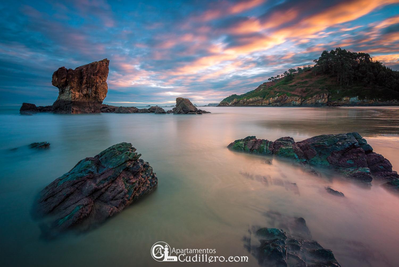 Playa de Aguilar, Cudillero, Asturias, Turismo, Vacaciones, Escapadas, Hikcing